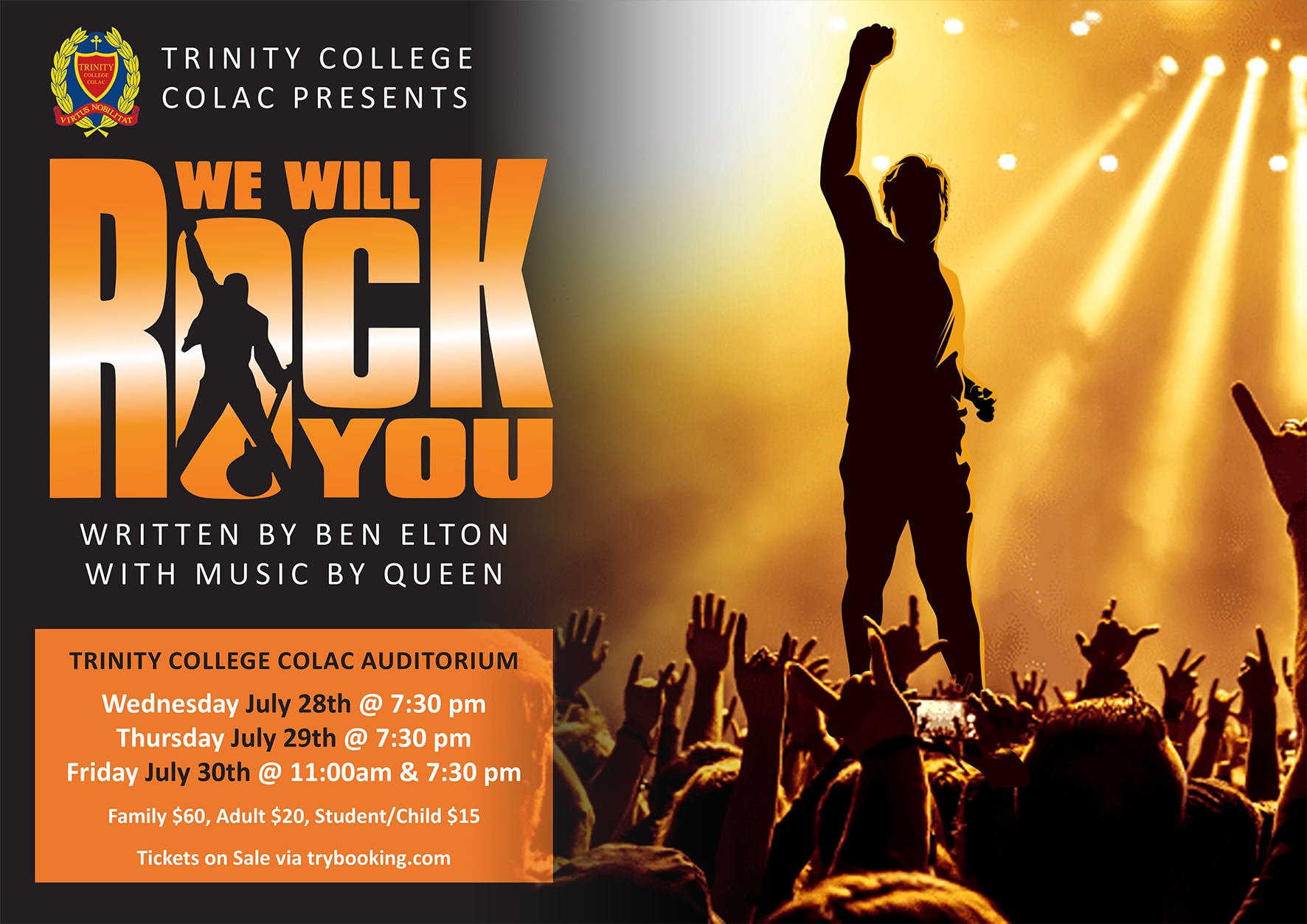 We Will Rock You Poster Small;